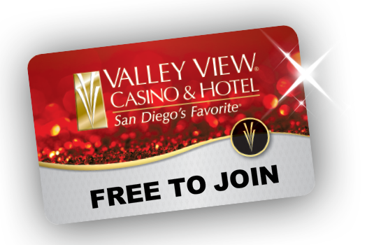 Valley View Casino & Hotel Players Card